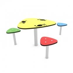 Staliukas su kėdėmis SL0816