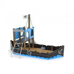 """Smėlio dėžė su čiuožyklėle """"Laivas"""" WD1414"""