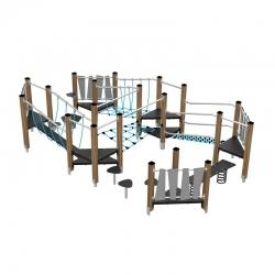 Žaidimų kompleksas - kliūčių ruožas CWD1461