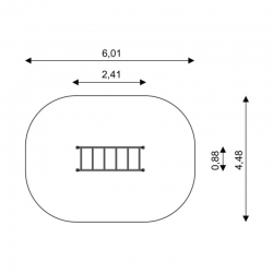 Horizontali laipiojimo sienelė C0406