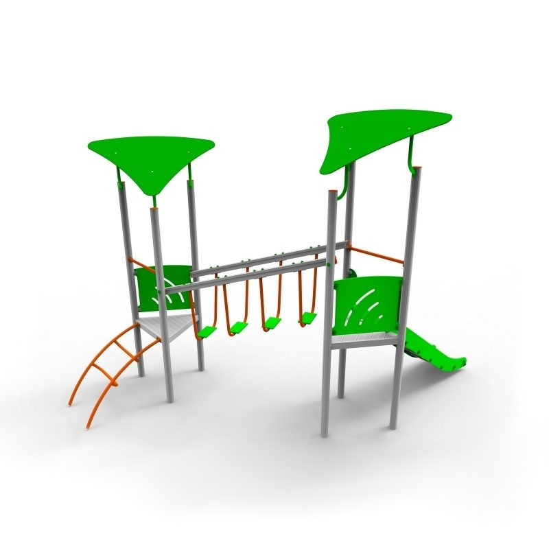 Aliumininė Vaikų Žaidimų Aikštelė DW-R1010