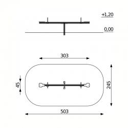 Aliumininės Balansinės Sūpynės DW-Q550