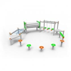 Aliumininė Vaikų Žaidimų Aikštelė DW-R1033