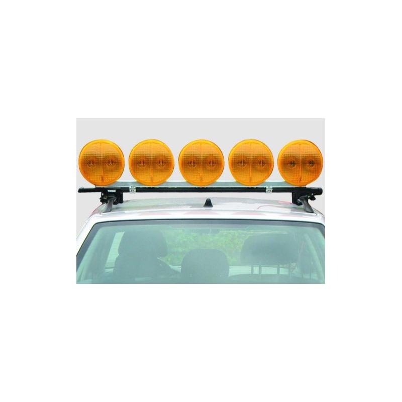 5 LED signalinių žibintų sistema