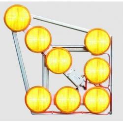 Šviečiančios LED rodyklės L8/S