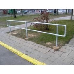 Gatvės tvora pėstiesiems (atitvaras)