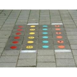 Kelio ženklai iš termoplastiko - Premark