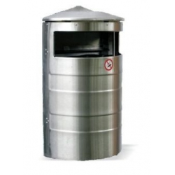 Nerūdijančio plieno pakabinama šiukšlių dėžė 35 L