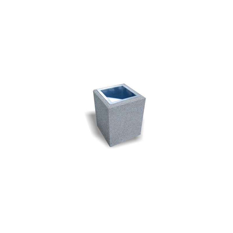 Betoninė šiukšlių dėžė INV159