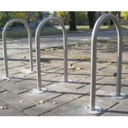 Nerūdijančio plieno dviračių stovas