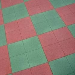 Profiliuotos SBR Guminės Plytelės Vaikų Žaidimų Aikštelėms
