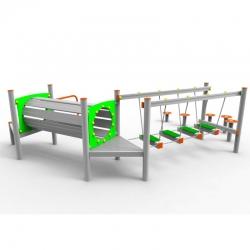 Aliumininė Vaikų Žaidimų Aikštelė DW-R1035