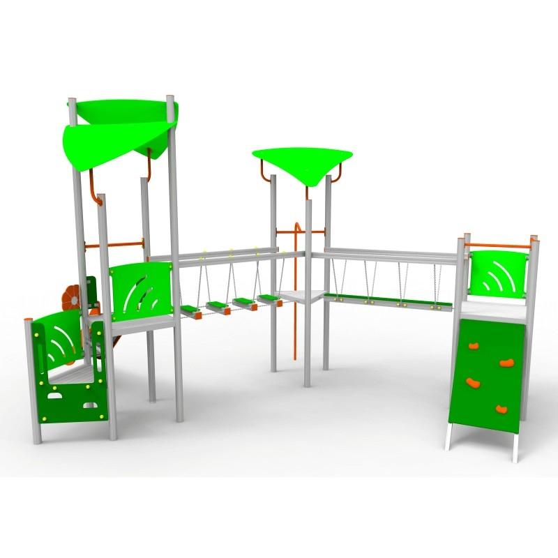 Aliumininė Vaikų Žaidimų Aikštelė DW-R1007