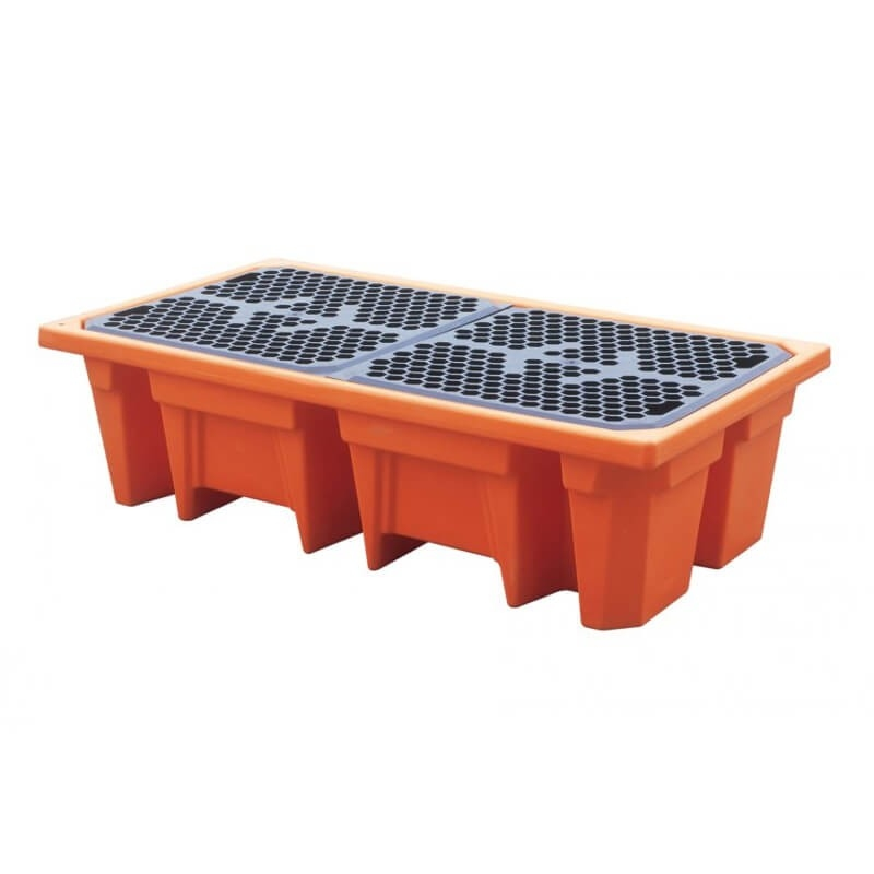 Liquid collection tray 2 barrel (240 liters)