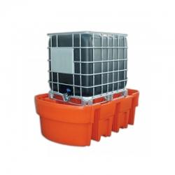 Skysčių surinkimo padėklas konteineriams (1050 l talpos)