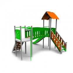 Aliumininė Vaikų Žaidimų Aikštelė DW-R1006
