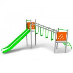 Aliumininė vaikų žaidimų aikštelė DW-R1011